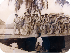 Troops arriving on Bonaire
