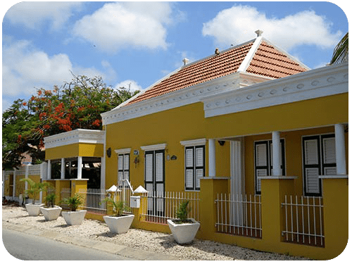 One of Bonaire's historic buildings.