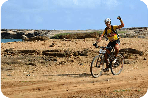 The Bonaire Duo Xtreme race takes participants through Bonaire's landscapes.