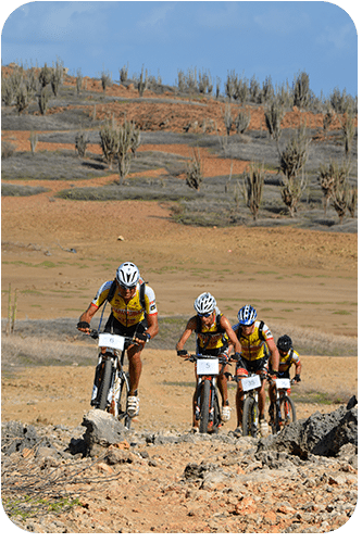 The Bonaire Duo Xtreme is an annual mountain biking event.