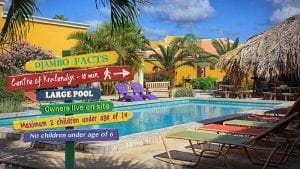 Djambo is a mid-sized, family run resort on Bonaire.