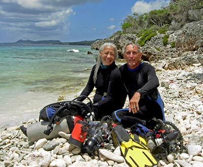Ned and Anna DeLoach are on Bonaire from May 28th to June 11th, 2016