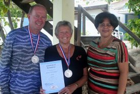 Larry & KaryleMumper, with15 Years of Visiting Bonaire
