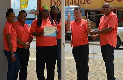 The Silver Quality Coast Award is Bestowed Upon Bonaire