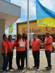 Silver Quality Coast Award, awarded to Bonaire in 2016.