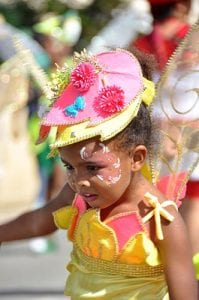 The children's carnival provides wonderful photographic opportunities.