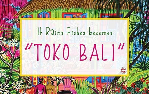 It Rains Fishes Restaurant Goes Indonesian with Toko Bali Buffet Night