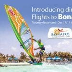 Special Introductory Fares for Flights Toronto to Bonaire Offered by Sunwing
