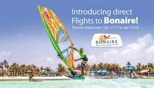 Introductory Airfare specials on Sunwing from Toronto to Bonaire