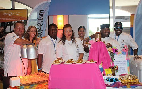 Bonaire's Culinary Team at 2017 Taste of the Caribbean