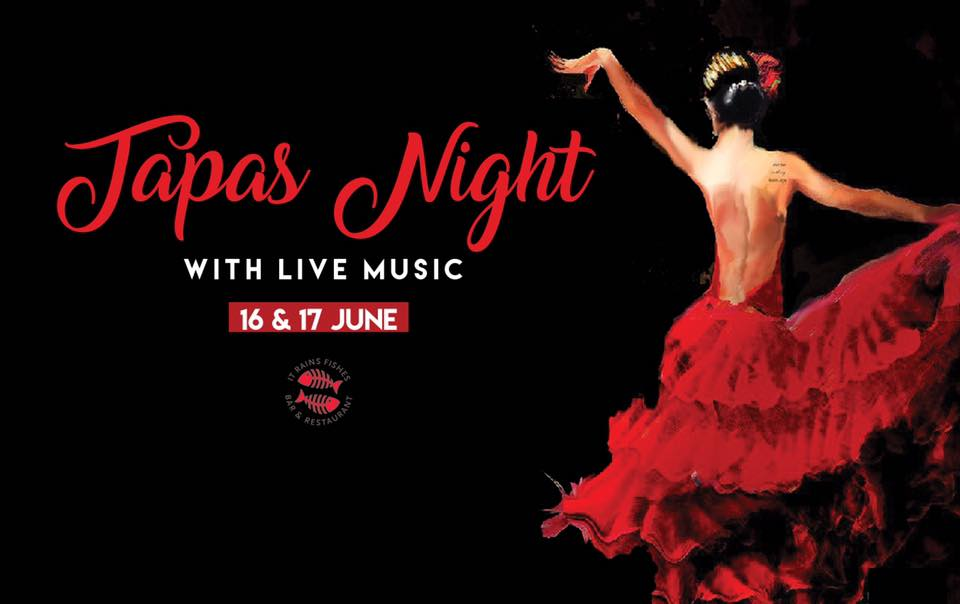 It's Time for Tapas at It Rains Fishes Restaurant's Special Event
