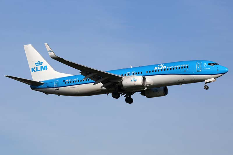 KLM Royal Dutch Airlines flies from Amsterdam to Bonaire.