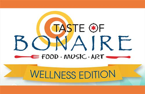 Taste of Bonaire Wellness will take place on November 4, 2017.