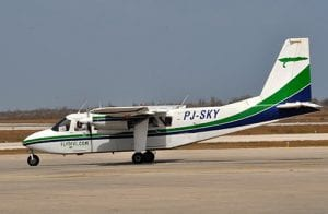Divi Divi Air's Islander planes provide service between Curacao and Bonaire.