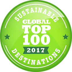 Bonaire is once again named to the Top 100 Sustainable Global Destinations for 2017!