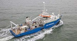 The research vessel, RV Pelagia