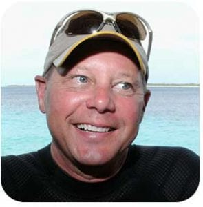 Mike McDonald, returning Bonaire visitor and underwater photographer.