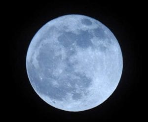 "Anytime a full moon occurs a second time in any calendar month, it is called a ""Blue Moon."""