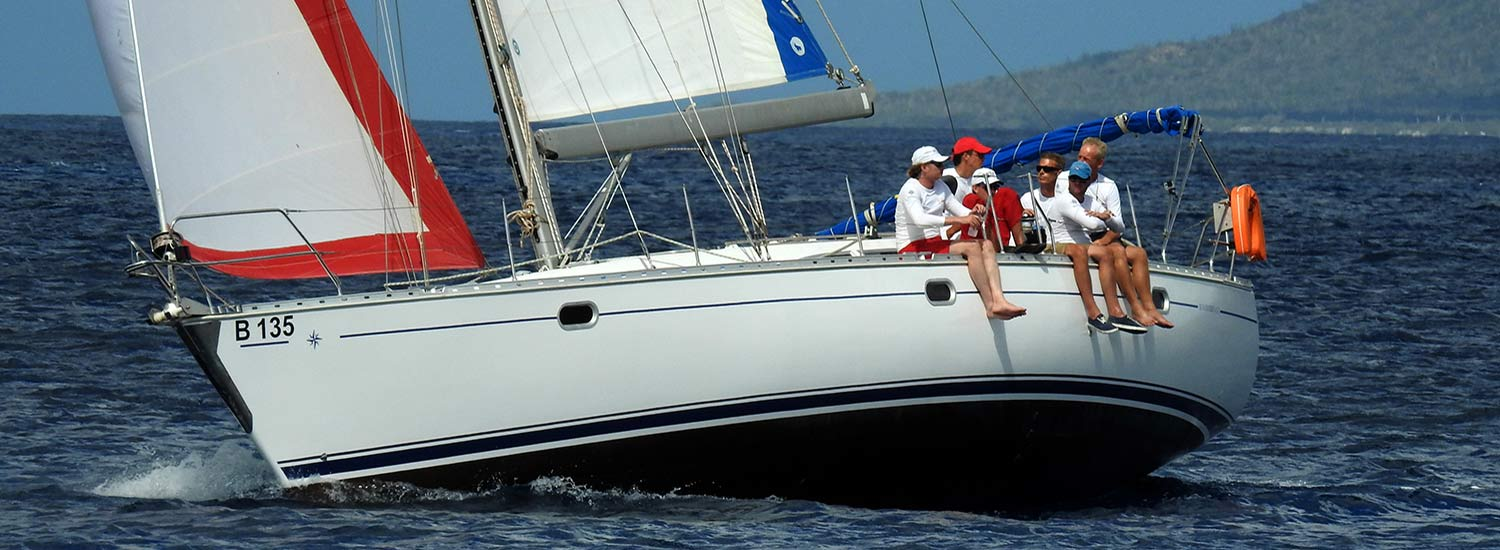 There are many choices of vessels on which to sail around Bonaire!