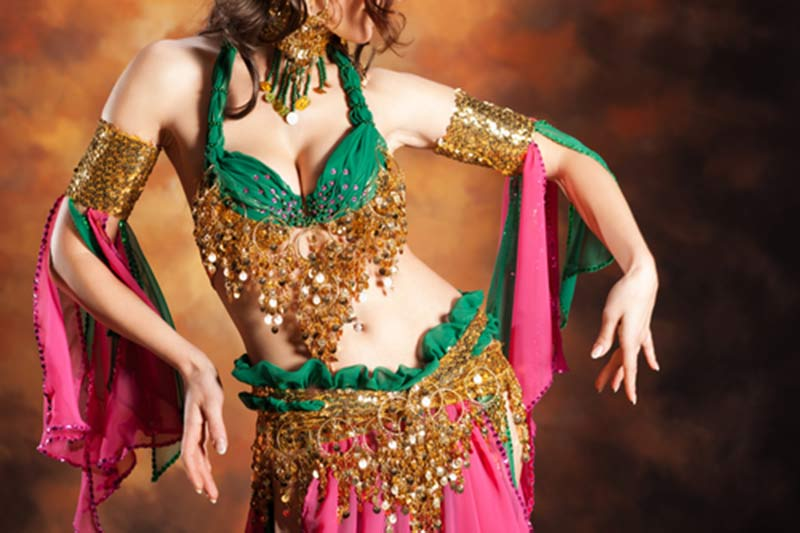 Be entertained by a world-class belly dancer at Go Green's four-course dinner on January 19th, 2018