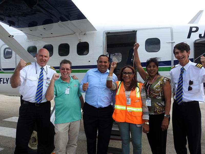 Divi Divi Air Inaugurates Two Twin Otters With Abc Island Flights