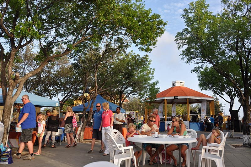 Taste of Bonaire is a popular event, held in Bonaire's Wilhelmina Park.