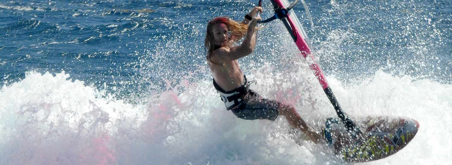 There are great windsurfing conditions on Bonaire for every skill level.