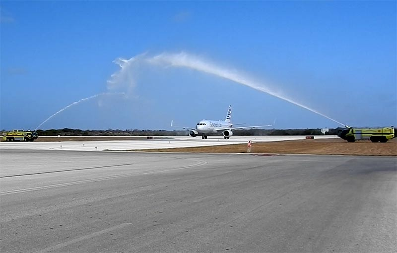 American Airlines, Welcome to Bonaire!