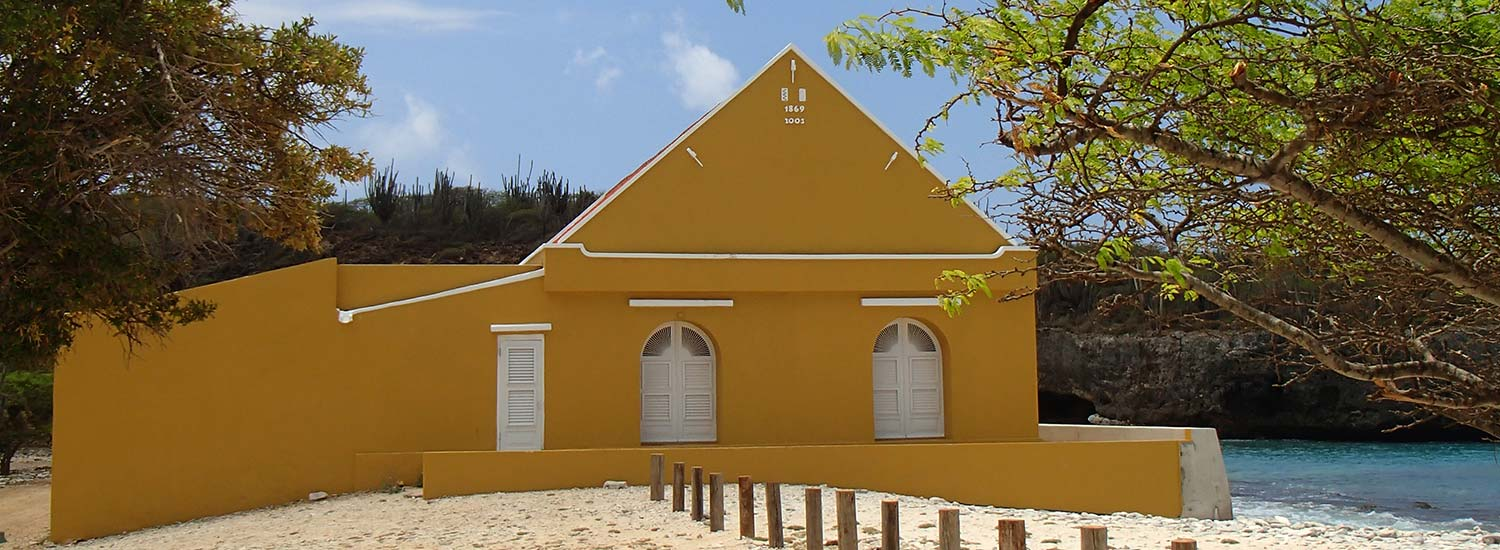 The plantation house at Boka Slagbaai was renovated in 2005.