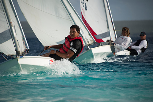 The Sunfish World Championships will be held on Bonaire in September, 2019.