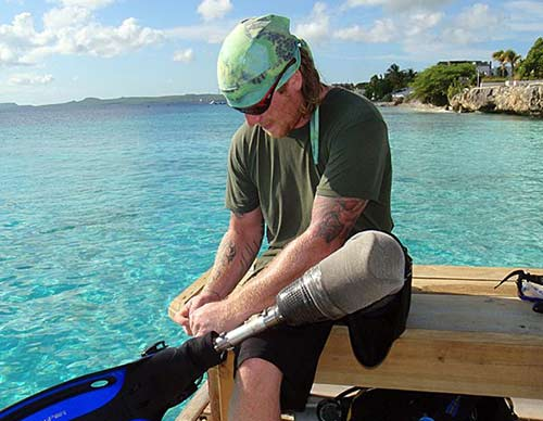 The Wounded Warriors will return to Bonaire once again in August, 2019.