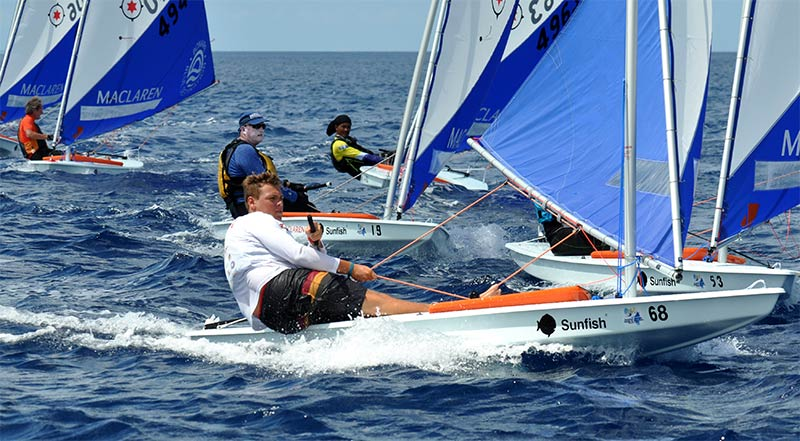 Sunfish Worlds 2019 Bonaire See Fierce Competition | InfoBonaire