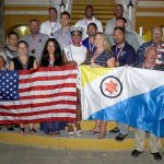 Wounded Warriors are Honored on Bonaire