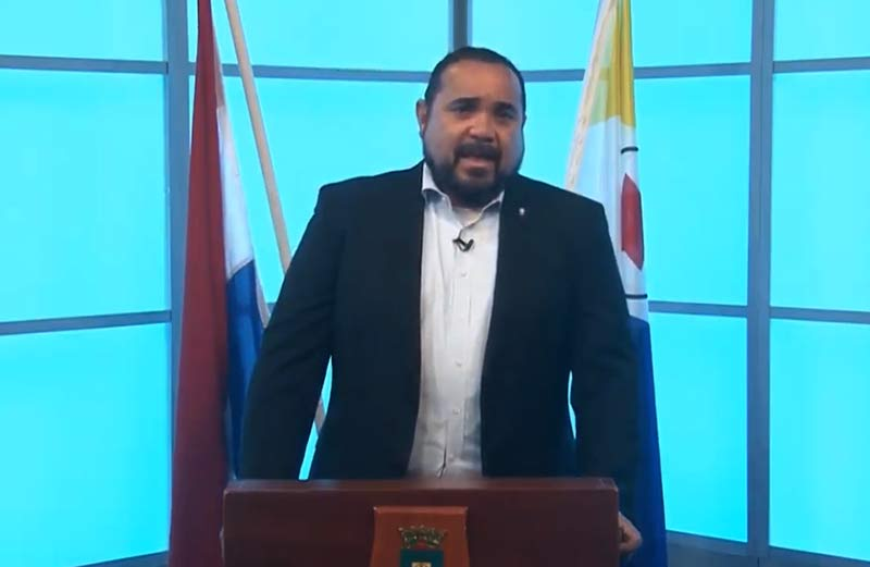 Lockdown Update by Bonaire's Lt. Governor Edison Rijna