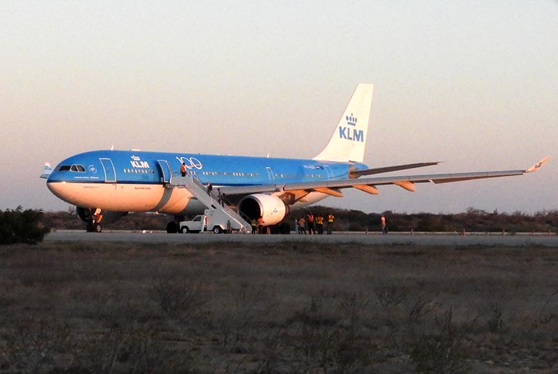 KLM Continues to Fly to Bonaire